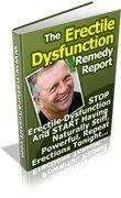 The Erectile Dysfunction Remedy