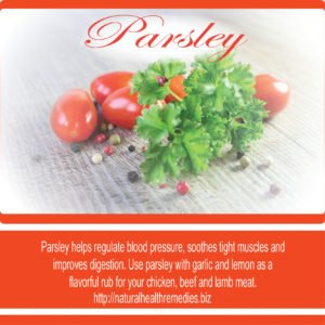 See What Happens When You Start Eating Parsley