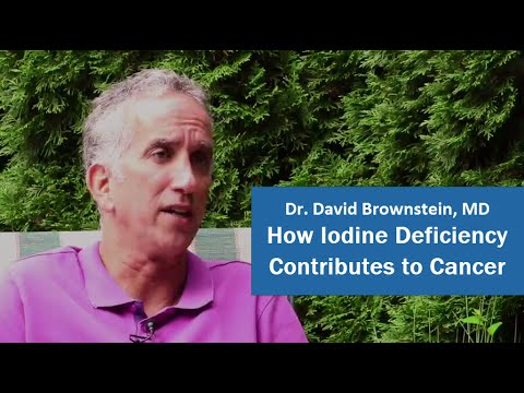 How Iodine Deficiency Contributes to Cancer