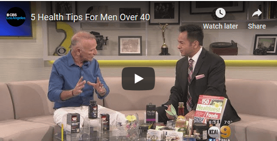5 Health Tips For Men Over 40