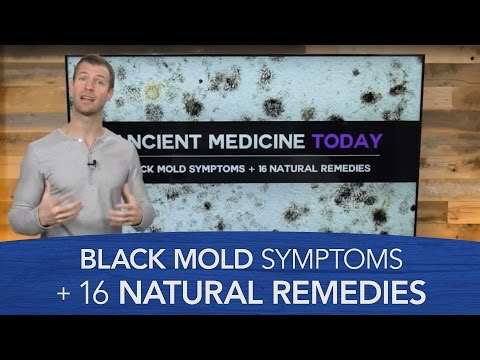 Black Mold Symptoms and 16 natural remedies